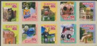 NZ SG2064b Curious Letterboxes sheetlet of 10